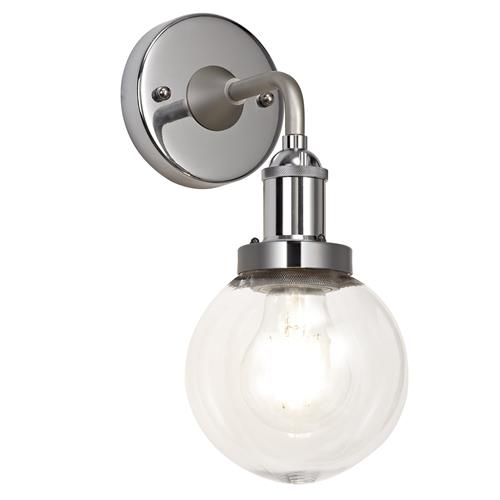 Wilfredo IP65 Satin Nickel and Chrome Wall Light JOL7852