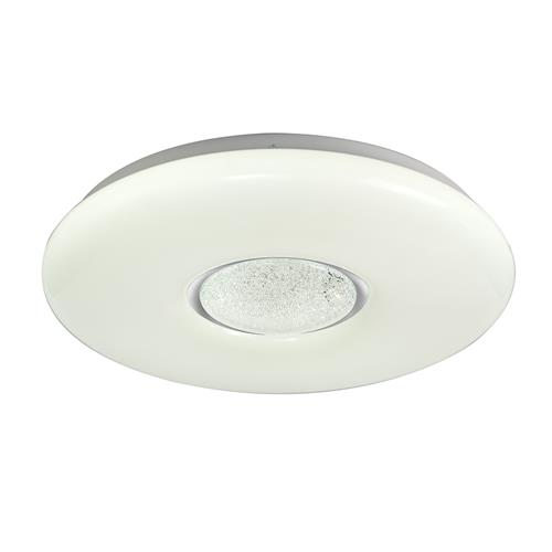 Xander LED CCT Opal White Flush Ceiling Light MAD7091