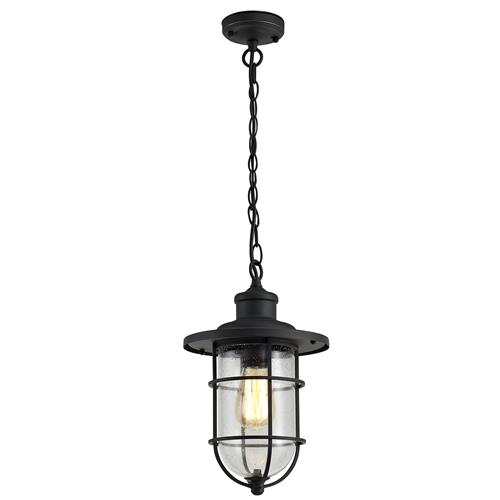 Xiah Black Gold IP54 Outdoor Chain Pendant BRO7314