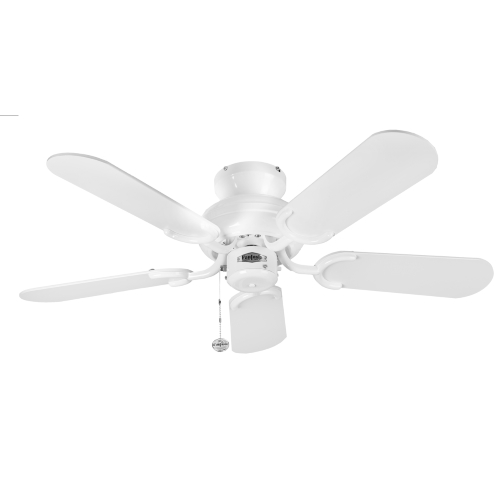 "White Capri Ceiling Fan 36"" 110200"