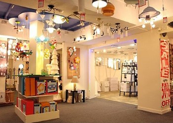 Lighting Superstore Showroom Interior