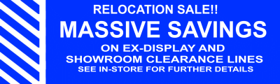 Clearance and Ex-Display Lighting