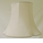 "10"" Clover Leaf Beige Dupion Lampshade SS1134"