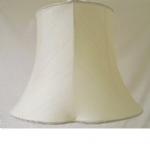"10""clover Leaf Lined Champayne Silk Lampshade SS1135"