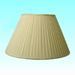 "20"" Annette Pongee Pleated Lampshade SS1122"