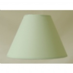 "9""CT LT Green PVC Coolie Lampshade"