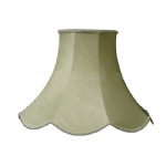"14"" Scollop Green Special Lampshade L SS1102"