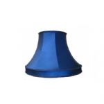 "10"" Collard Navy Silk Lampshade SS1042"