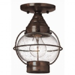 HK/CAPECOD8/S Globe Flush/ Pendant Light