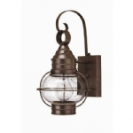 Small Globe Outdoor Wall Light HK/CAPECOD S