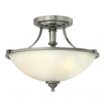 3 Light Semi Flush Ceiling Light HK/TRUMAN/SF