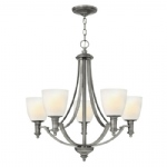HK/TRUMAN5 5 Light Multi Arm Chandelier