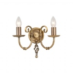 Artisan Double Wall Light ART2 AGD Brass