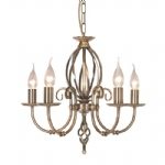 ART5 Aged Brass Artisan Ceiling Light