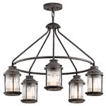 Ashland Bay IP44 rated 5 Light Pendant kL/ASHLANDBAY/5P