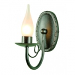 Minster Traditional Wall Light BATH/MN1 Black