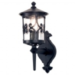 Hereford Outdoor Wall Light BL10 Black