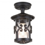 Hereford Outdoor Lantern BL13A Black