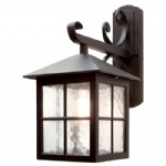 Winchester Outdoor Wall Light BL19 Black