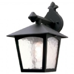 BL2 York Outdoor Wall Light BL2 BLACK