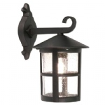 Hereford Outdoor Wall Light BL21G Black