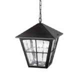 Edinburgh Porch Lantern Black BL38 Black