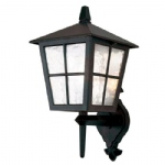 Canterbury Outdoor Wall Lantern BL46M Black
