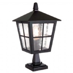 Canterbury Outdoor Post Lantern BL50M Black
