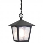 York Hanging Lantern BL6B Black