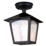 York Outdoor Lantern In Black BL6A Black