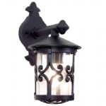 Hereford Outdoor Wall Lantern BL8 Black
