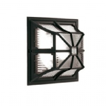 Chapel Black Outdoor Lantern CP12 Black