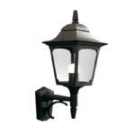 Chapel Outdoor Lantern Wall Light CP1 Black