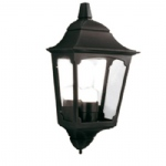 Chapel Black Outdoor Wall Light CP7 2 Black