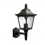 Black Chapel Outdoor wall Lantern CPM1 Black