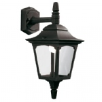Chapel Black Outdoor Lantern CPM2 Black