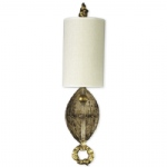 Dumaine Aged Gold Wall Light SC1046