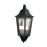 Parish Black Outdoor Half Lantern PR7 Black