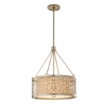 Arabesque 4 Light Ceiling Pendant FE/ARABESQUE4