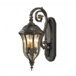 Lantern Brown Wall Light FE/BATONRG/M