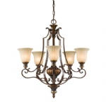 5 Light Ceiling Chandelier FE/KELHALL5 UPLT