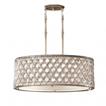 Lucia 3 Light Crystal Pendant FE/LUCIA/P/A