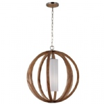 Allier Large Pendant Light FE/ALLIER/P/L LW
