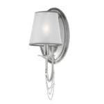 Aveline Brushed Steel Wall Light FE/AVELINE1