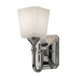 Concord Chrome Wall Light FE/CONCORD1 BATH