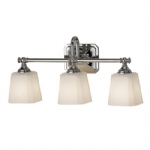 Concord Chrome Triple Wall Light FE/CONCORD3 BATH