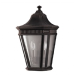 Cotswold Lane Outdoor Half Wall Lantern FE/COTSLN7 GB