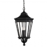 Cotswold Lane Large Lantern Light FE/COTSLN8/L BK