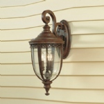 English Bridle Outdoor Wall Lantern FE/EB2/L BRB