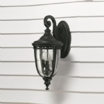 English Bridle Outdoor Light. FE/EB2/M BLK